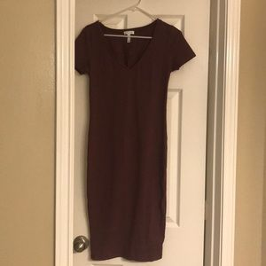 Leith midi dress sz small
